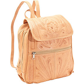 Ropin West Two Compartment Backpack in Natural