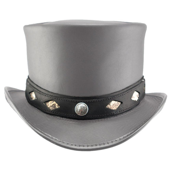 Head'n Home Hat Diamond Inlay Hatband in Black