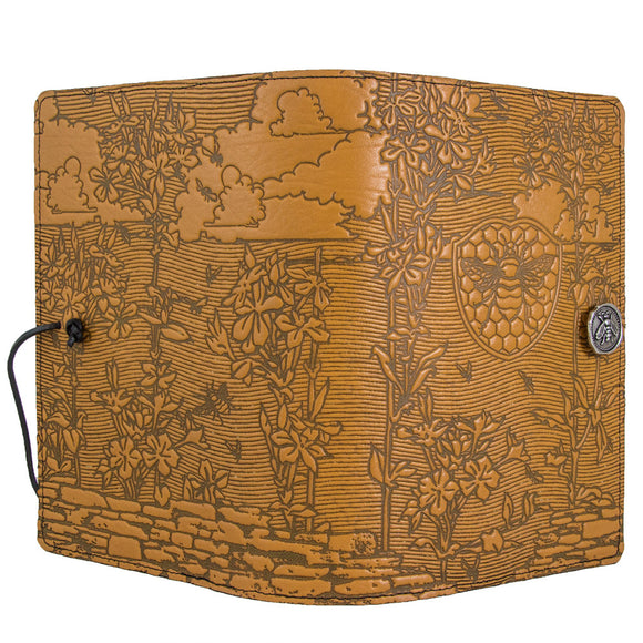 Oberon Bee Garden Refillable Journal Cover in Marigold