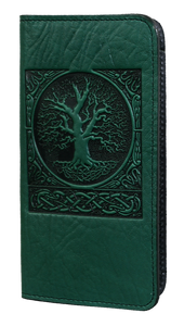 Oberon World Tree Smartphone Wallet in Green