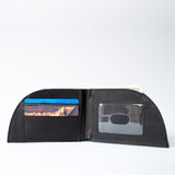 Rogue Industries Bison Rogue Wallet in Black w/ 3 card slots & ID window