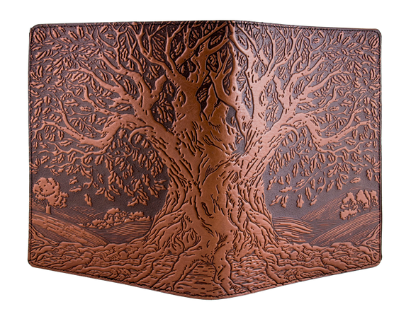 Oberon Tree of Life Composition Notebook in Saddle