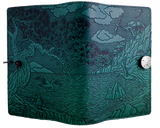 Oberon Cypress Cove Refillable Journal Cover in Teal