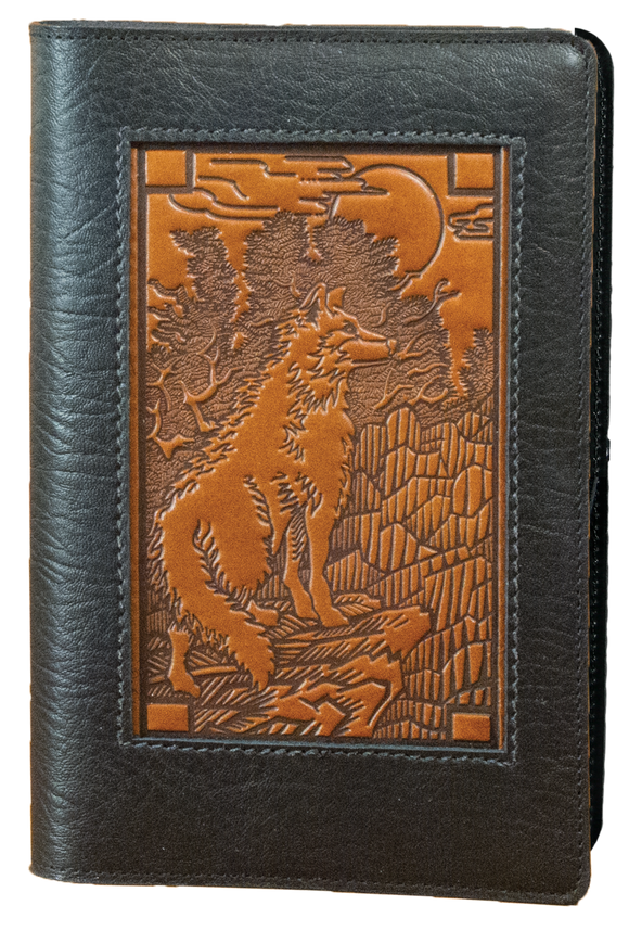 Oberon Mountain Wolf Icon Refillable Journal Cover
