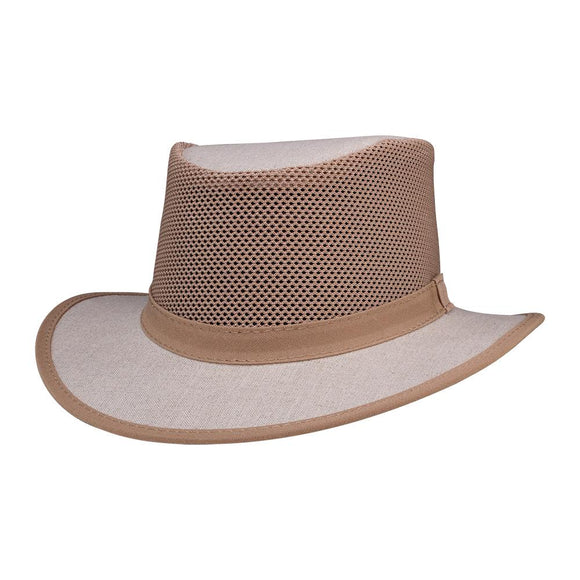 Head'n Home Hat Ellipse Mesh Sun Hat in Natural