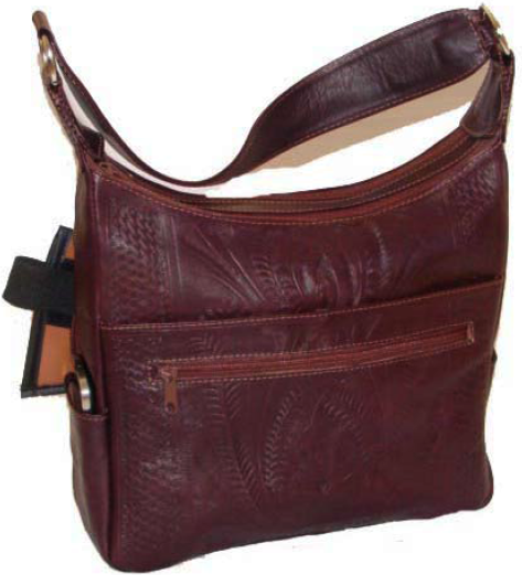 Ropin West 2 Pocket Concealed Carry Bag in Brown