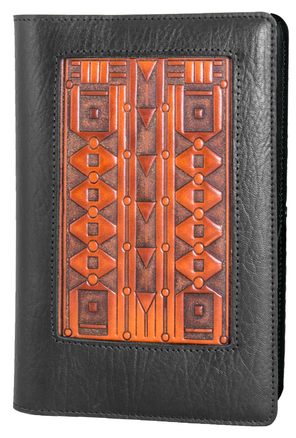 Oberon Art Deco Icon Refillable Journal Cover
