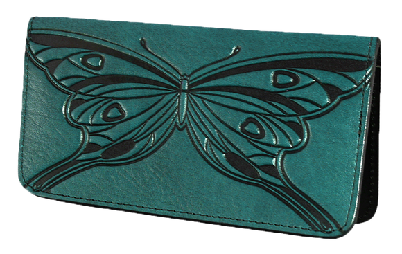 Oberon Butterfly Smartphone Wallet in Teal