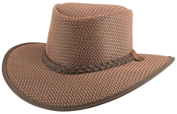 Head'n Home Hat Soaker Mesh Sun Hat in Tan
