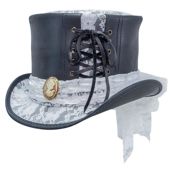 Head'n Home Hat Havisham Top Hat in Black