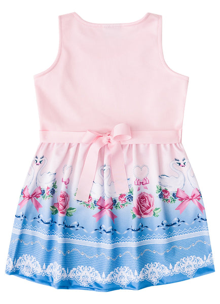 Swan Party Dress - Hopscotch and Kite