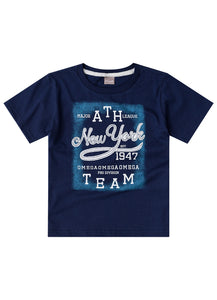 Printed NY Tee - Hopscotch and Kite