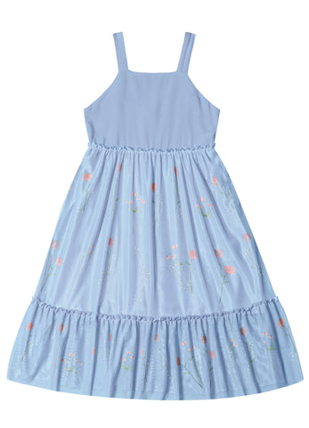 Light Blue Tulle Dress by Hopscotch and Kite
