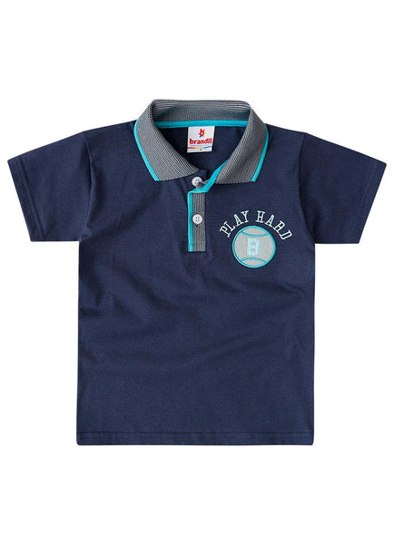 Play Hard Polo Shirt Set - Hopscotch and Kite