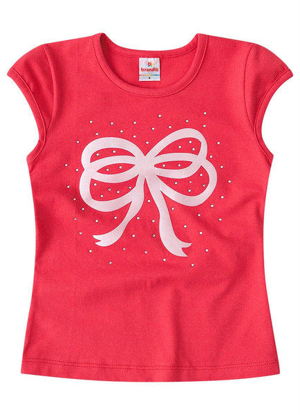 Sparkly Bow Top - Hopscotch and Kite