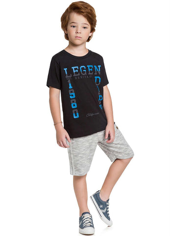 Legendary T-Shirt and Shorts Set - Hopscotch and Kite