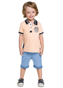 Original Polo Shirt and Shorts Set - Hopscotch and Kite
