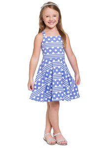 Polka Dot Retro Dress - Hopscotch and Kite