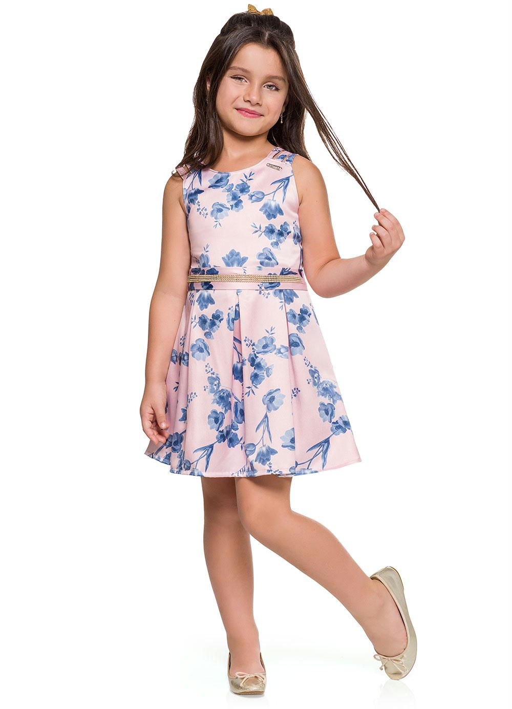 Blossom Party Dress Pleat Style - Hopscotch and Kite