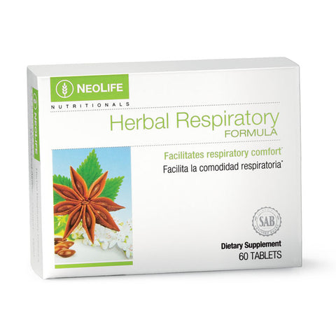 Herbal Respiratory Formula, 60 tablets - Soar Like A Dove