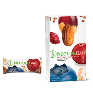 NeoLifeBar Fruit & Nuts, 15 bars