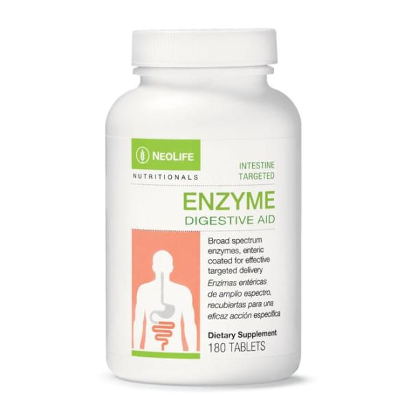 Enzyme Digestive Aid, 180 tablets - Soar Like A Dove