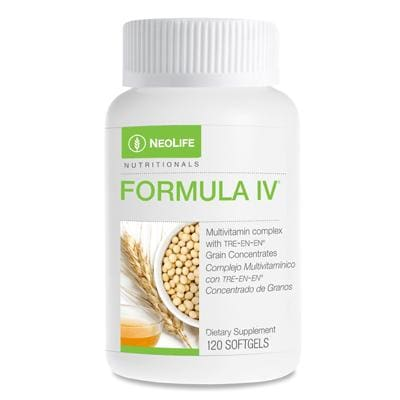 Formula Iv Iron Bottle 120 Softgels