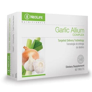 Garlic Allium Complex, 60 tablets - Soar Like A Dove
