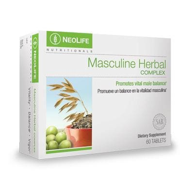 Masculine Herbal Complex, 60 tablets - Soar Like A Dove