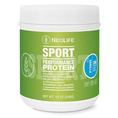 Performance Protein-Vanilla 19 Oz.