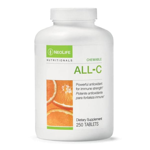 Vitamin C All-C (Chewable) 250 Tablets