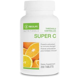 Vitamin C Super C Threshold Control 200 Tablets
