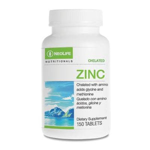 Zinc, Chelated, 150 tablets - Soar Like A Dove