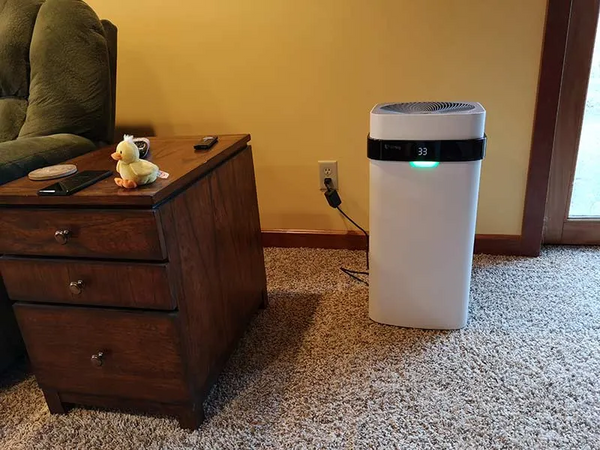 Airdog X5 air purifier review by gadgeteer