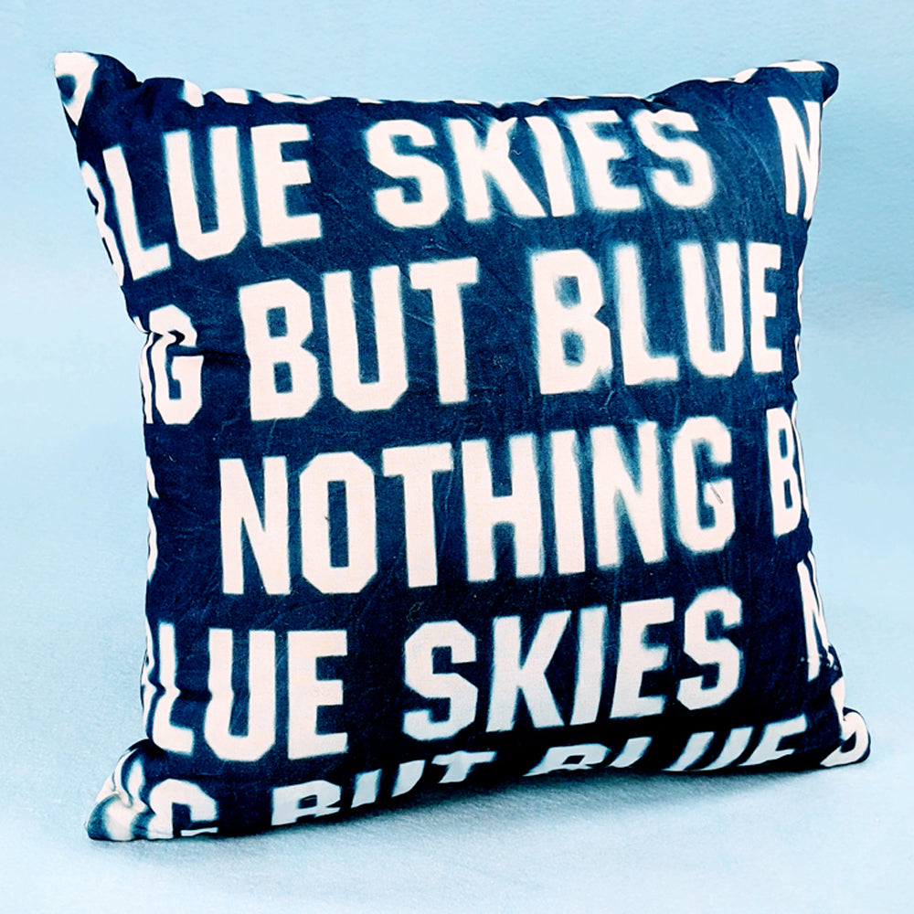 Pillow, Blue Skies Pillow 14.5 inch square #1