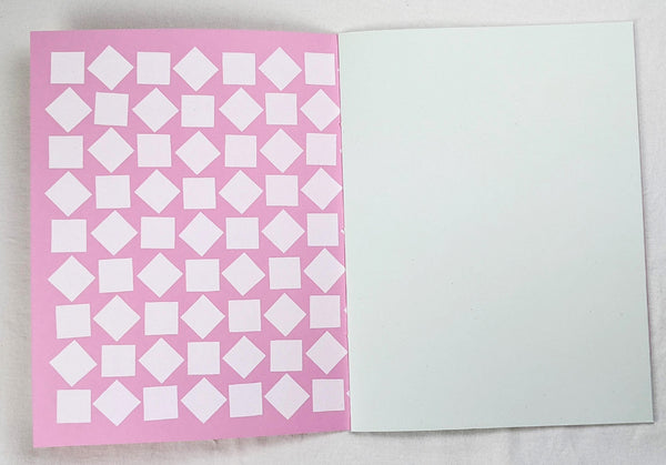 Oversized Notebook with Screenprinted Cover #10