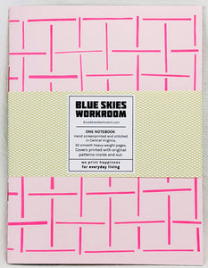Oversized Notebook with Screenprinted Cover #2