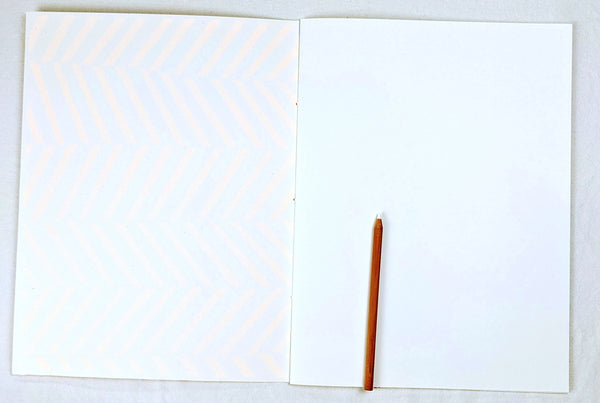 Oversized Notebook with Screenprinted Cover #9