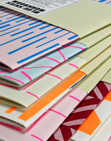 Oversized Notebooks with Screenprinted Cover