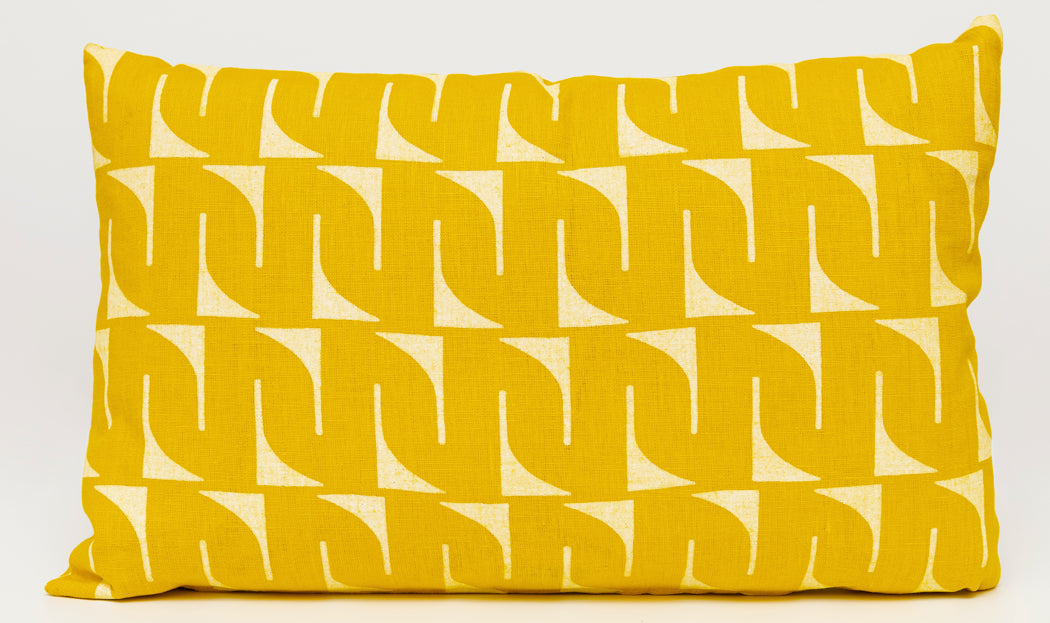 Pillow, Lumbar - Yellow