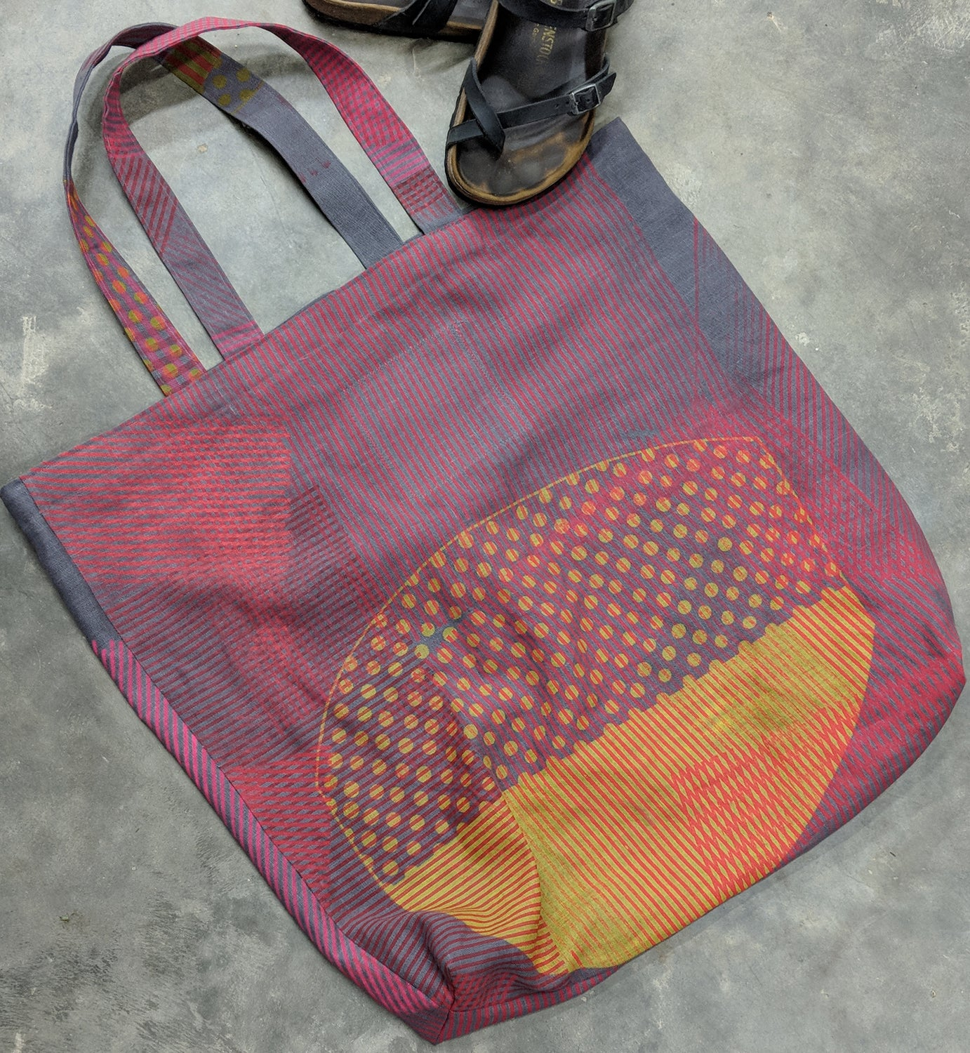 Large Square Tote Bag