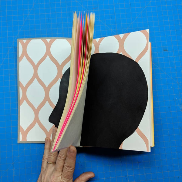 To Fill or To Fondle, handbound books