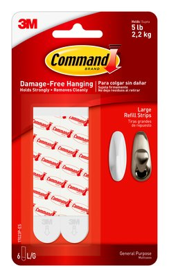 Command™ Large Refill Strips (Holds upto 2.2 kg)