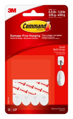 Command™ Small Refill Strips (Holds upto 450g)