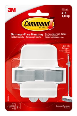 Command™ Broom Gripper (Holds upto 1.8kg)