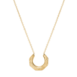 Hex Necklace-14K Gold Vermeil-Phyllis + Rosie