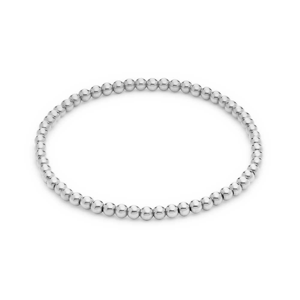 Moon Bracelet (various sizes)-Sterling Silver-Medium-Phyllis + Rosie