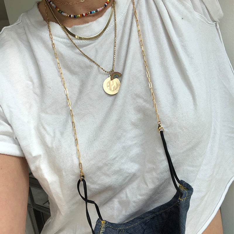 Essential Link Mask/Sunglasses Chain