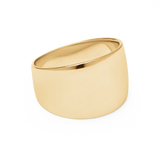 Cigar Band Ring-Gold-6-Phyllis + Rosie
