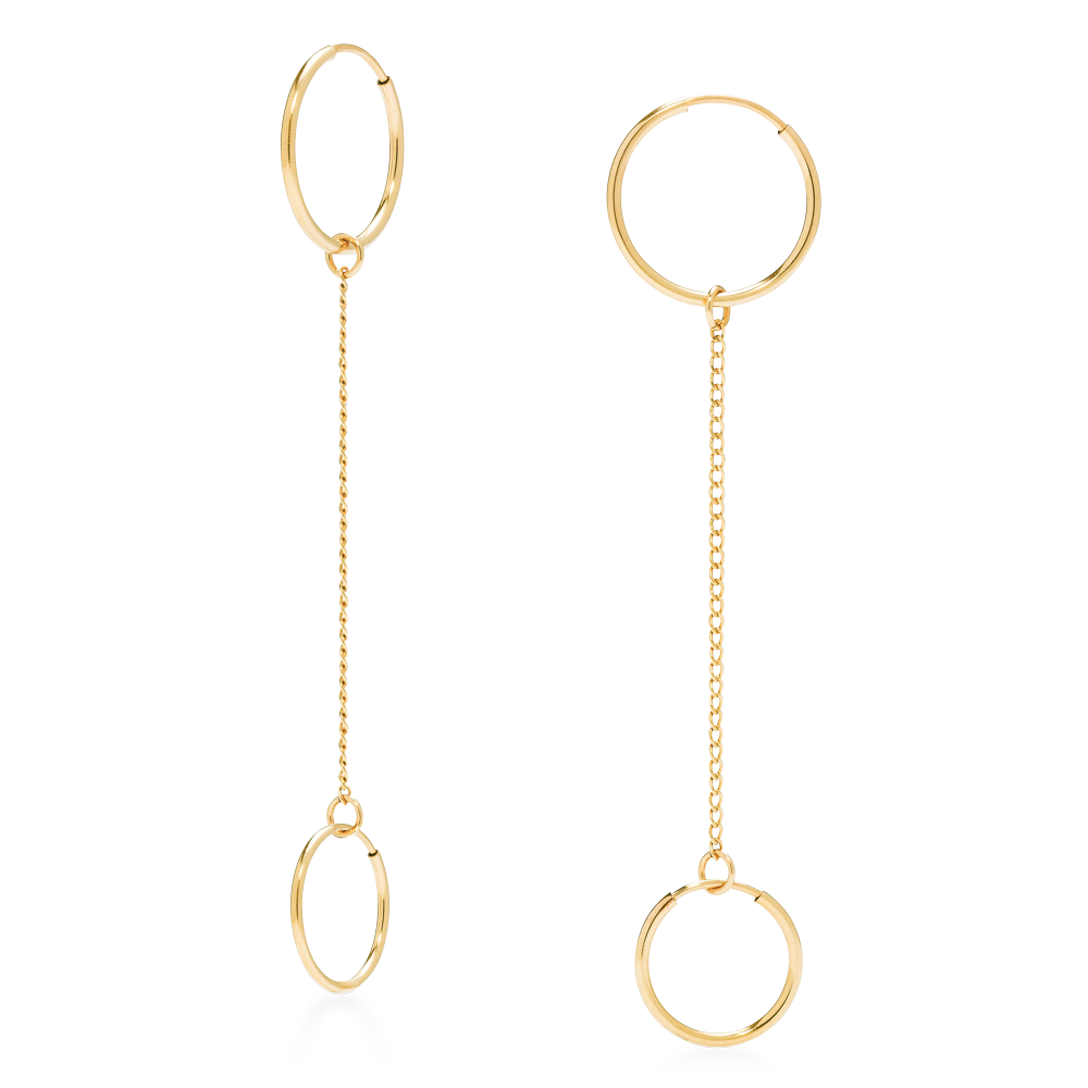 Double Convertible Earrings-Phyllis + Rosie